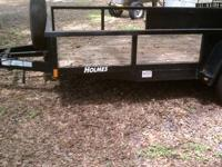NO NAME TRAILER 5X8 WITH LOADING RAMP 5x8 FOOT UTILITY