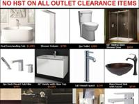 Canaroma Bath & & Tile Outlet has clearance items
