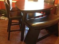 Table = $350 Barstools = $560 (each one priced @ $140)