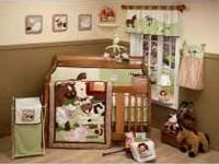 NoJo Farm Babies 5 Piece Crib Set ( Includes: