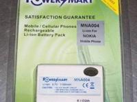 Nokia Batteries - One new one used $10 I have these two