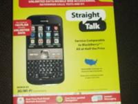 I have Nokia e5 smartphone for Straight Talk NEW IN