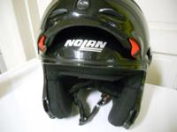 Pre-owned Nolan N100 modular motorbike helmet. In very