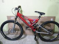 Selling my Norco 4x4, bike is set up for racing,