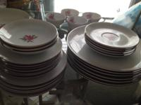 I have a set of china with full service for 4 and extra