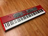 This is a gently used Nord Stage 2 88 weighted key