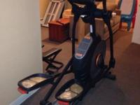 Almost brand-new elliptical model (1 year old). Model