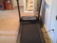 For sale is a NordicTrack C1500 treadmill. It was