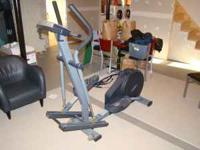 Used NordicTrack elliptical machine. Works well, but