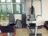 WORKOUT STATION. WILL WORK ABS, BACK, ARMS, LEGS,