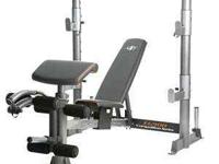 Nordic Track weight bench like new comes with ....four