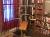 Nice home gym in good condition. Isokinetic resistance