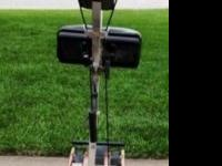 Vintage exercise machine from 1995 in very good to
