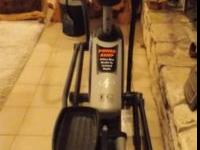 NordicTrack elliptical exercise machine in excellent