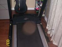Heavy Duty treadmill with fan function, adjustable