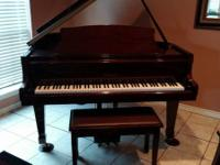 Beautiful  baby  grand piano..excellent  sound..quality
