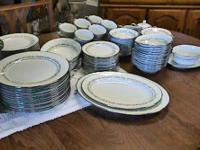 Noritake China Dinner 12 Place Setting + Trilby    Get