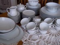 Sonoma Pattern #6353, all white with embossed edges and