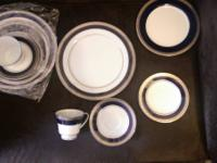 I have 2 sets of China. Noritake Colbalt Platinum is