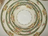 "Noritake ""Estelle"" China for 8 location settings. Will"