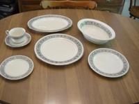 Set of Noritake fine china, service for 8 plus serving