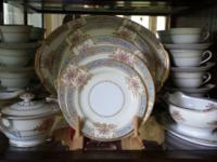 1947 Noritake fine china Mystery pattern #171. Near