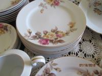 Antique china, Angela Pattern 1949-1952 Yellow & Pink