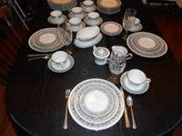 "Beautiful, like-new Noritake ""Prelude"" Ivory China"