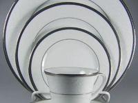 NORITAKE REGINA PLATINUM DESIGN. STILL SELLS AT BED