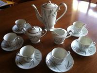 I have for sale a gorgeous 17 piece demitasse set from