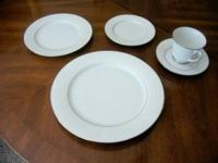 For sale are 9 (9) 5-piece (5 piece) place settings of