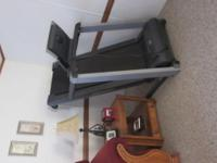 Great condition , incline,digital control ,fan blows