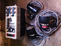 For sale is a Norman P2000D 2000watt power pack with