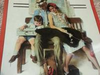 Norman Rockwell Calendar from 1999.