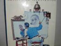 Vintage 1970 NORMAN ROCKWELL;ARTIST AND ILLUSTRATOR