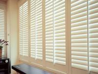 Norman Woodlore Plantation Shutters - Pure White - with