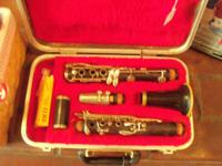This is a good clarinet. It is in great condition. This