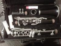 I have an all wood used clarinet for sale brand is