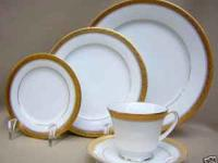 NORTAKE CHINA SETS OF SIX. THERE ARE FIVE PICES