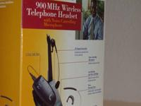 Nortel professional wireless telephone headset (model