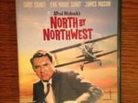 North by Northwest DVD $5.  Cash and pick up only