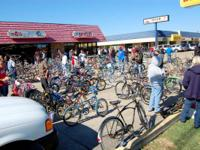 Begun out from 10am - 4pm to Don Johle's Bike Globe in