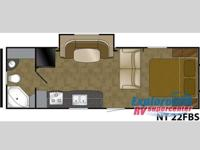 NORTH TRAIL 22FBS - TRAVEL TRAILER BEAUTIFUL FLOORING,