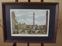 "It says ""Northumberland House, Trafalgar Sqre"" on this"