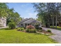 MUST SEE Updated Northville Home On 1/2 Acre Lot! Home