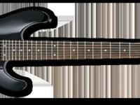 Ibanez contours the body of the S7420 7-string electric