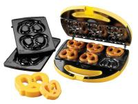 The Nostalgia Electrics Soft Pretzel Maker produces