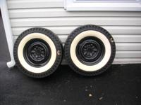 Up for sale are 4 really good tires and rims off my 55