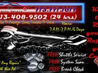 AUTO REPAIR   Your one stop shop for auto repair.