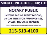 Need a notary? We have 3 fully bound and covered